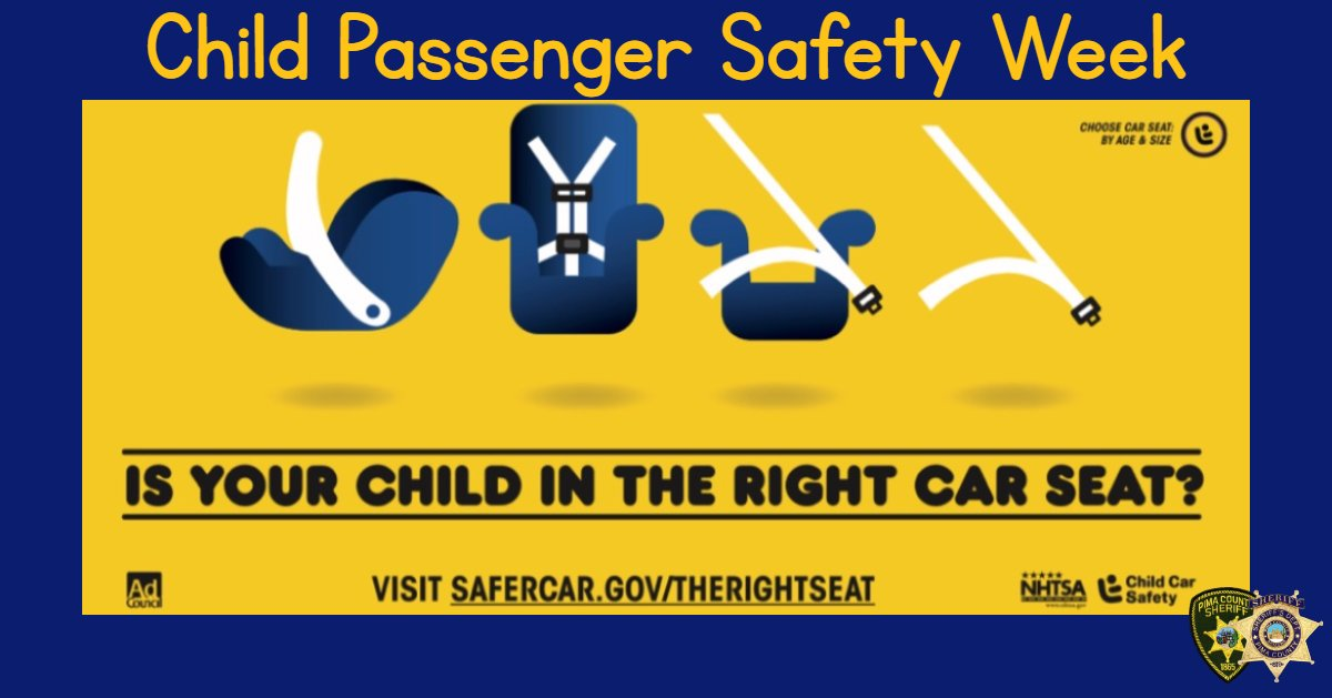 Car seats and boosters are one of the easiest ways to keep your child safe and, when installed correctly, car seats can reduce the risk of fatal injury in a crash by 71% for infants and by 54% for toddlers. 🚙 #ChildPassengerSafetyWeek