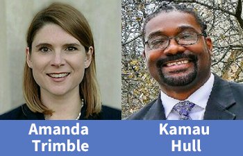 The Superior Court Judges announce the appointment of Juvenile Court Judges for the Western Judicial Circuit - Full-Time Presiding Judge Amanda Trimble & Part-Time Judge Kamau Hull. Swearing-in on Sept. 28. Read more at
