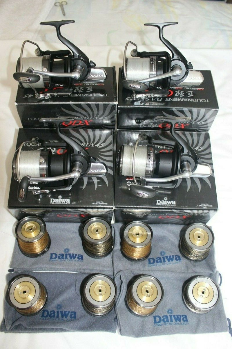 Ad - Daiwa Basia QDX 45 Fishing Reels x4 On eBay here -->> https://t.co/apQzCKXScQ  #carpfishi