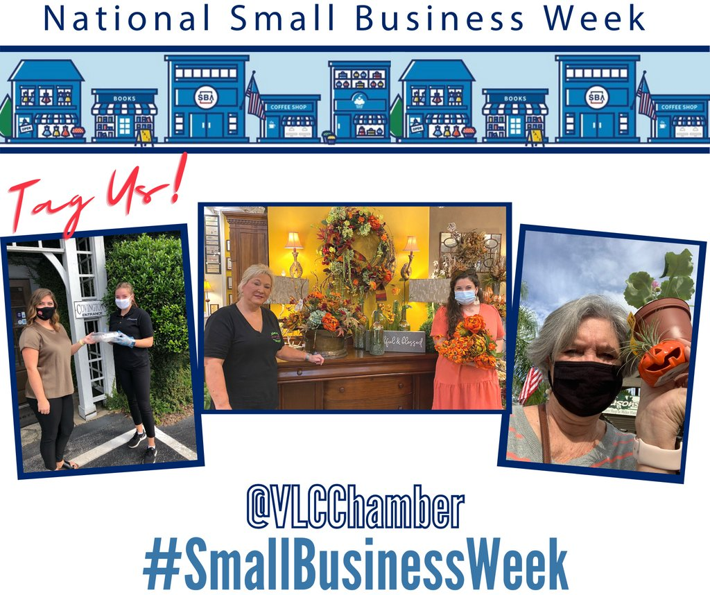We always encourage you to shop local and support our small businesses, but in the spirit of Small Business Week, we ask that you give these businesses an extra shout out! Take a photo and tag us wherever you shop/patronize! #SmallBusinessWeek