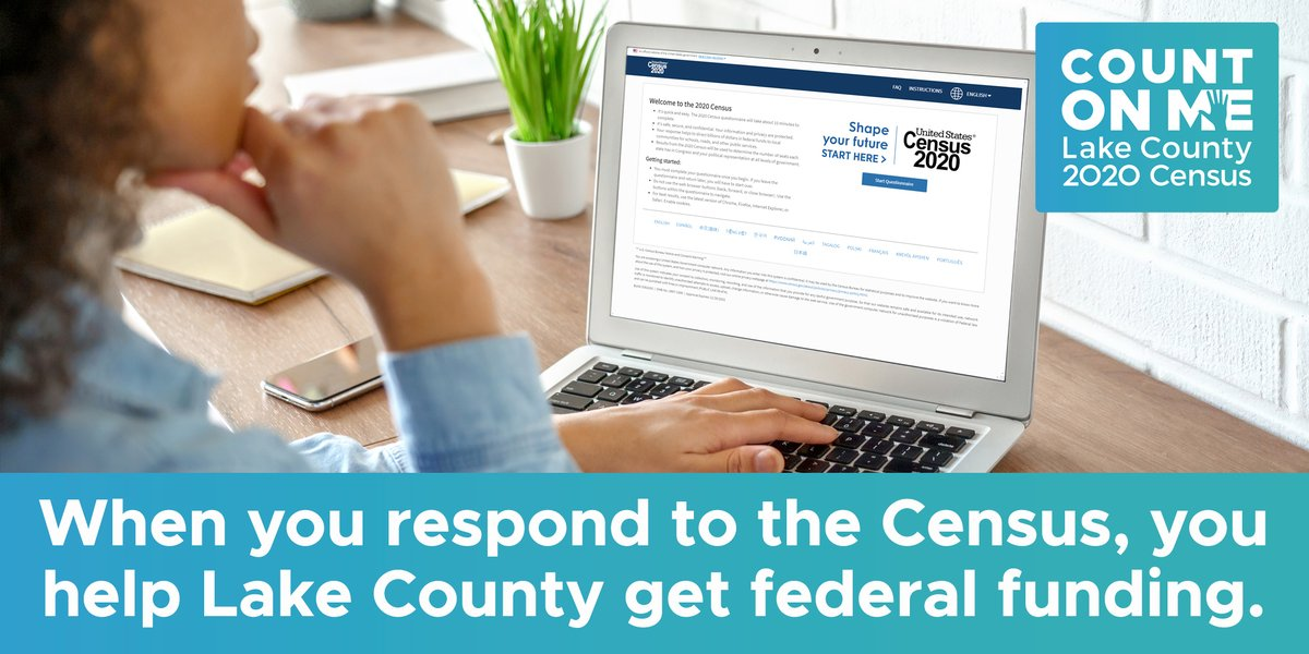Just one week remains to respond to the census.  If you haven't done so already, please respond today at , or call 844-330-2020.  Just 76% of residents have self-responded, and others have responded during census home visits. However, many remain uncounted.