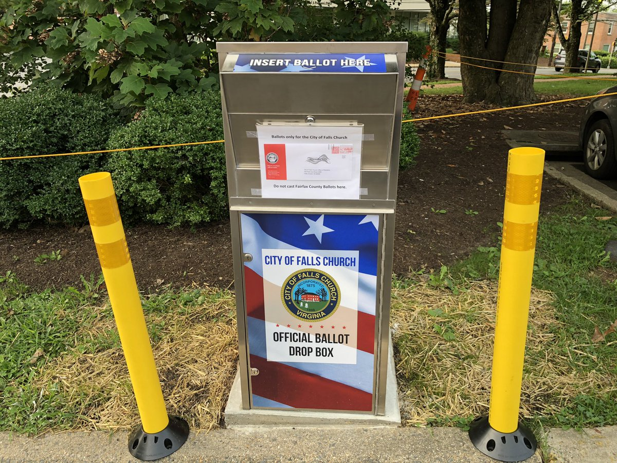 Over 3,000 voters in The Little City have requested a Vote-by-Mail ballot for the November election. If you're one of them, you can drop off your completed ballot at the secure Ballot Box outside City Hall (300 Park Ave.)