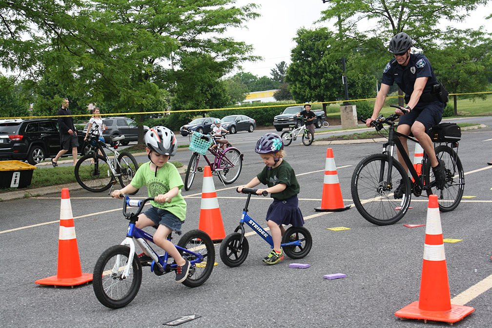 Today at 3:00! Join Ferguson Township for our Virtual Bike Chat to learn about bike safety and trails in the Township. Sign up for the event here:  Here is a pic from last year's Bike Rodeo!