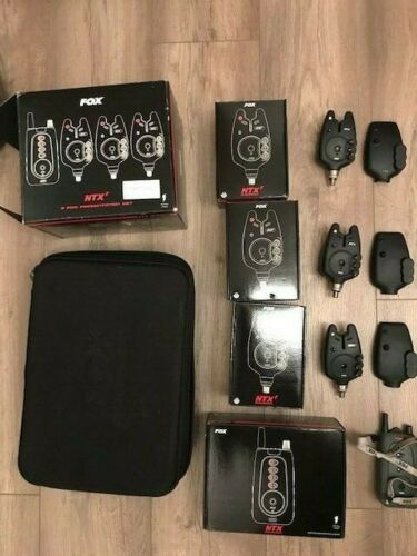 Ad - Fox NTXr 3 Rod Bite Alarm & Receiver Presentation Set On eBay here -->> https://t.co/