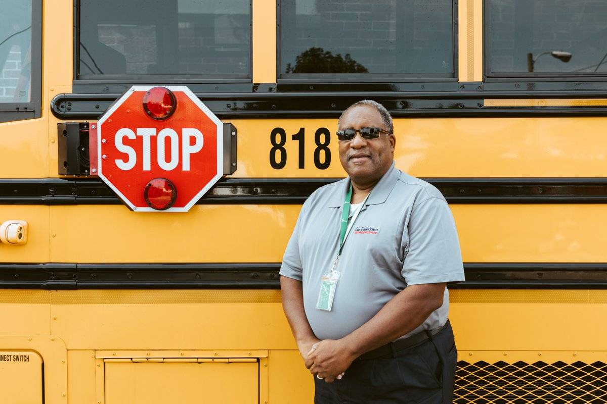 Gary Brydie is a bus driver for Southside Elementary.