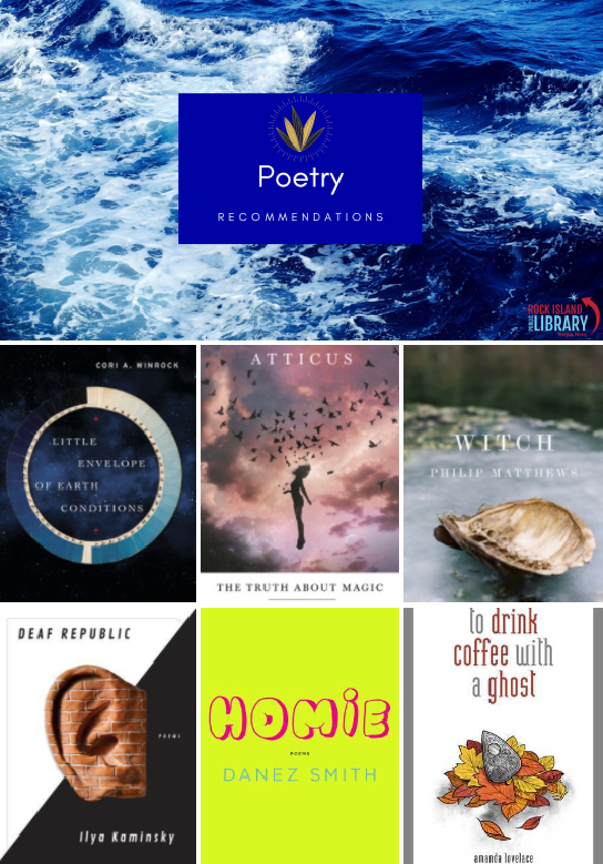 Have you viewed our new poetry arrivals yet? Featuring diverse authors and topics, read more about these titles on our adult reading blog here: