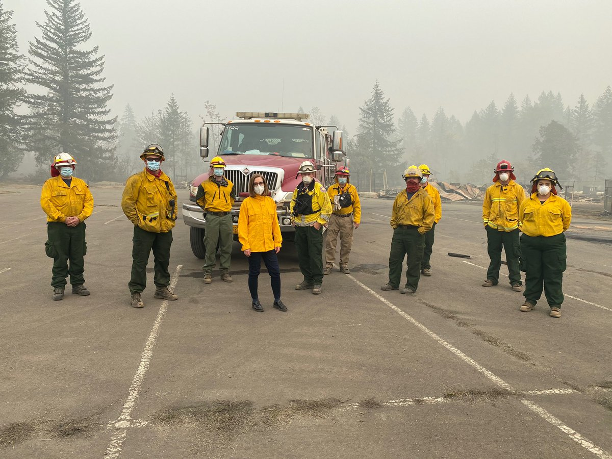 Over the past few weeks, we've experienced a fire event unlike any Oregon has seen.  We share a collective and deep sorrow over our losses from these wildfires, but the positive news is we're now entering a new phase of our fight.