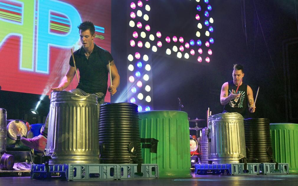 RT @Keene_Sentinel: Recycled Percussion to roll through Keene, Peterborough Saturday.