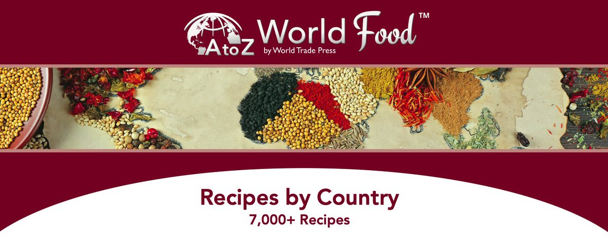 Discover a world of recipes with AtoZ World Food in our digital library!