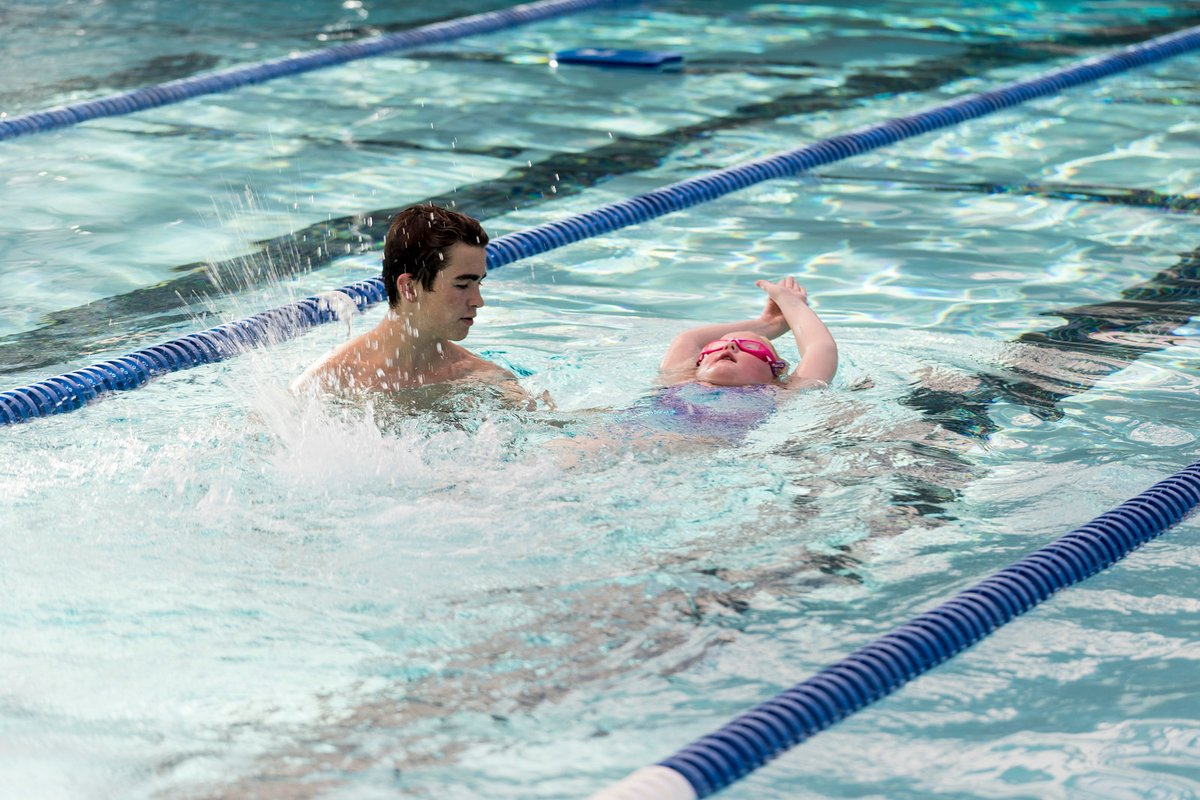 Swim lessons don't end with summer...next round of classes at the Indoor Pool start October 5. Find a class and register at . #SwimLessons #RosevilleCA