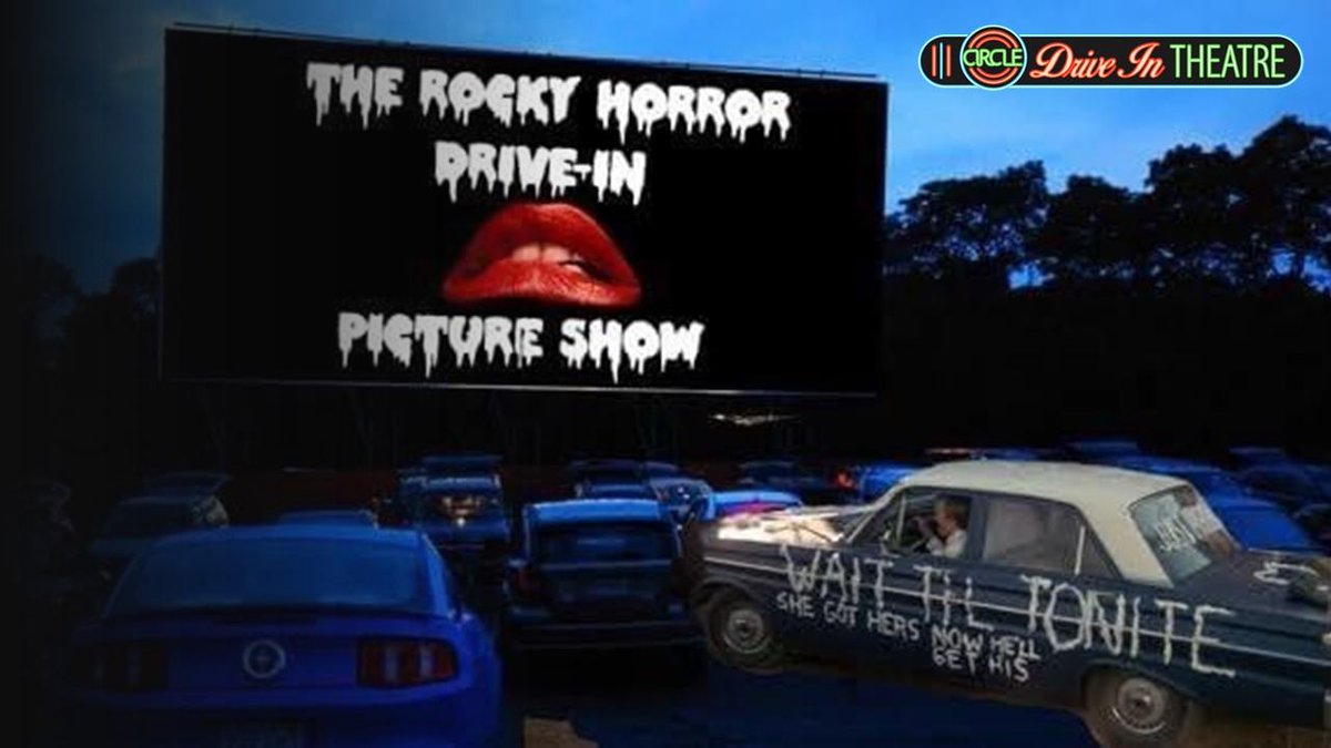 Celebrate the 45th anniversary of The Rocky Horror Picture Show this Friday at the Circle Drive-In. Learn more: