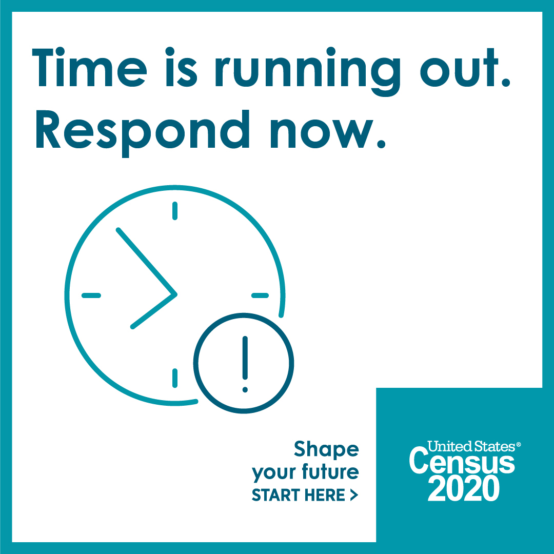 It's not too late! Complete the Census by September 30th.  🔗 #Count4Cabarrus
