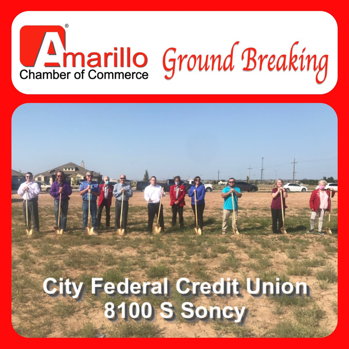 Congrats to City Federal Credit Union on their ground breaking today.