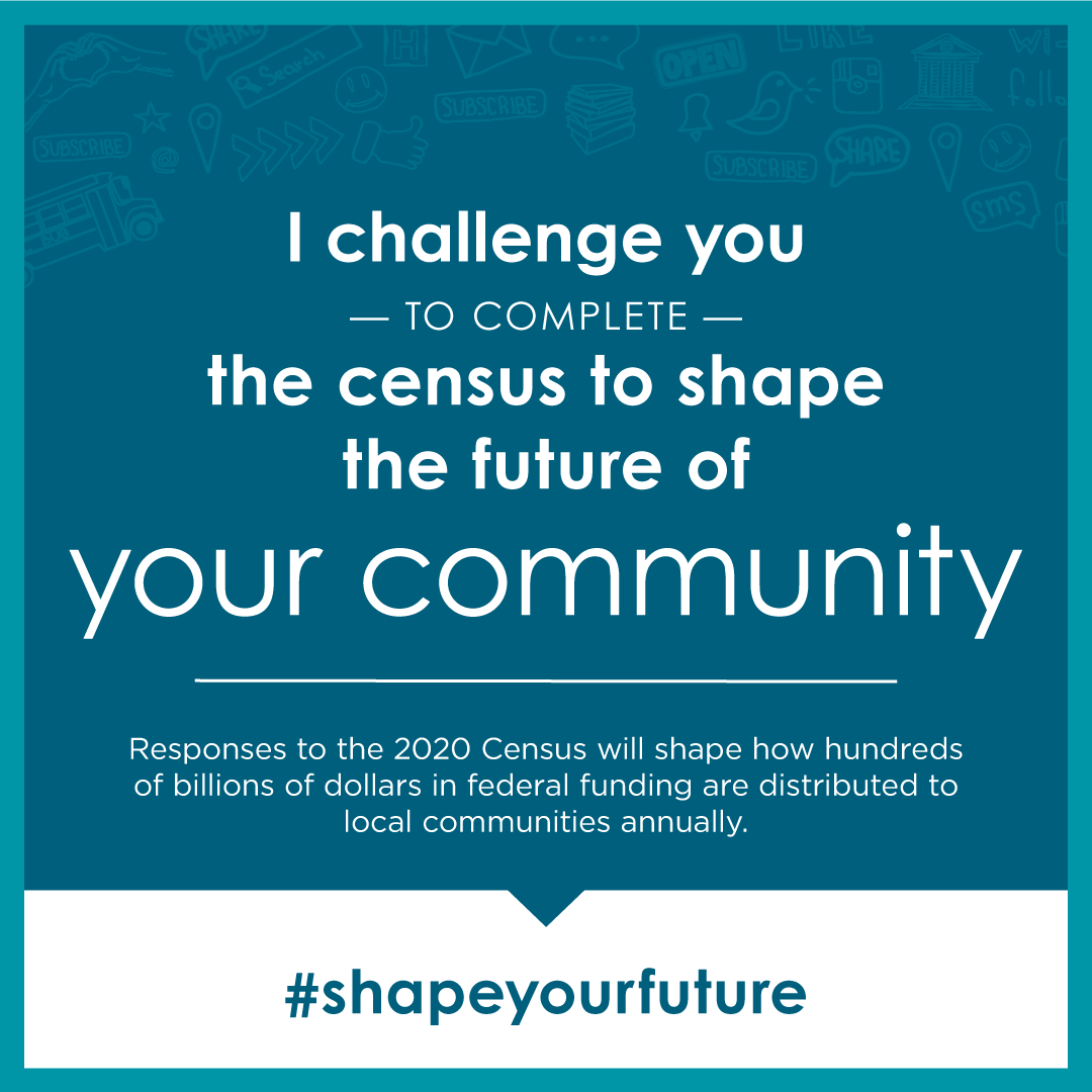 Be counted! Take the Census: