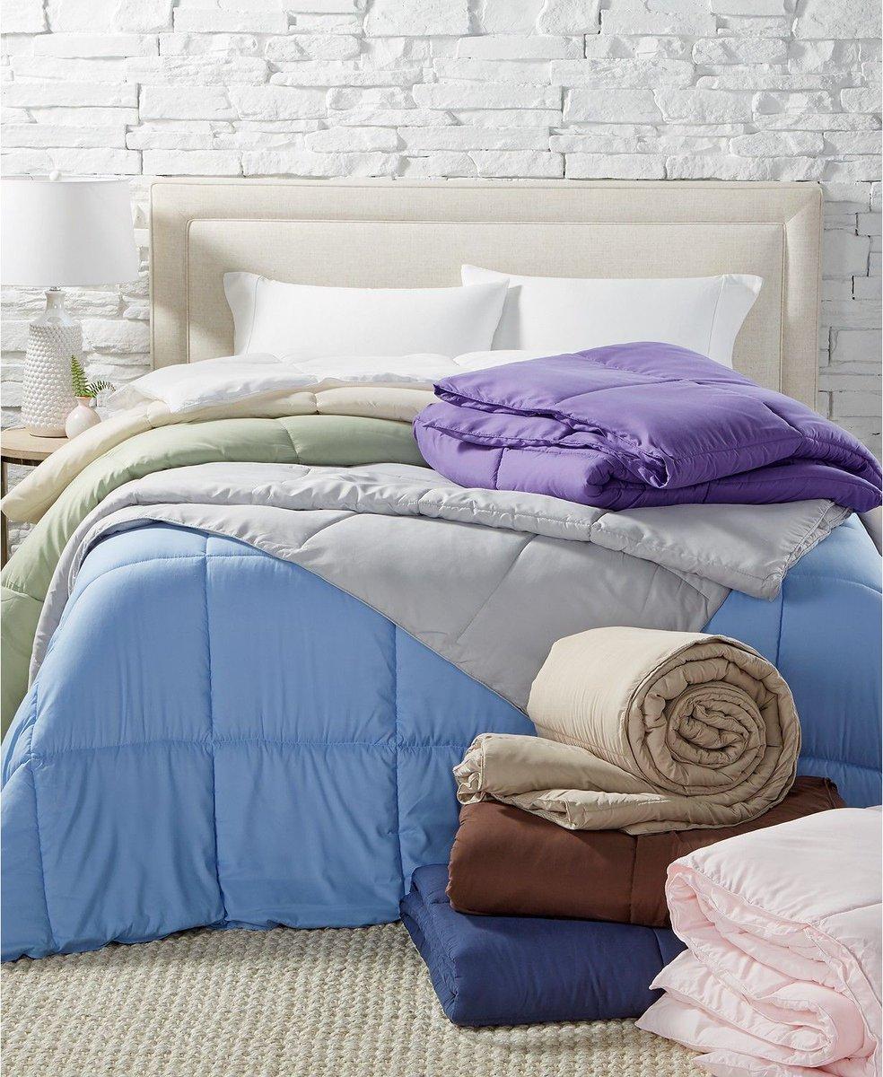 #DealAlert: Down-Alternative Comforters drop to $20 at Macy's! 😴