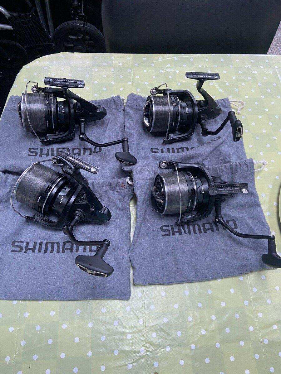 Ad - Shimano Power Aero 14000 XTB x4 On eBay here -->> https://t.co/iUledvy85p  #carpfishing h