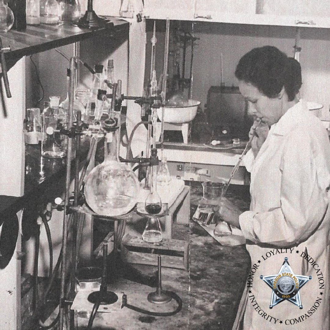 In honor of #NationalForensicScienceWeek  we highlight an amazing story of Sergeant Ruth Swinney, the first female OSP Trooper, who was a Forensic Technician from 1951 to 1972 -   #ThrowbackThursday #ScienceMatters #forensics
