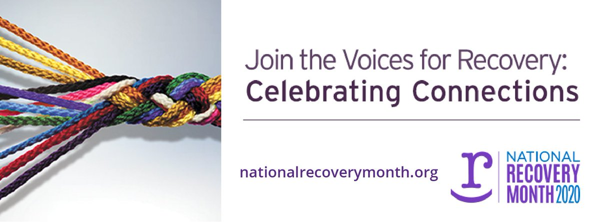 It is #NationalRecoveryMonth - and the @douglascountyco community can help support #recovery in all its forms. Start by engaging other community members to share resources and build support networks. Treatment is effective, and people can and do recover.