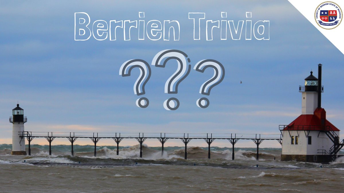 #ThursdayThoughts Berrien History Trivia 🧐❓ When was the St. Joseph North Pier Lighthouse built? Give us your best guess for the answer.