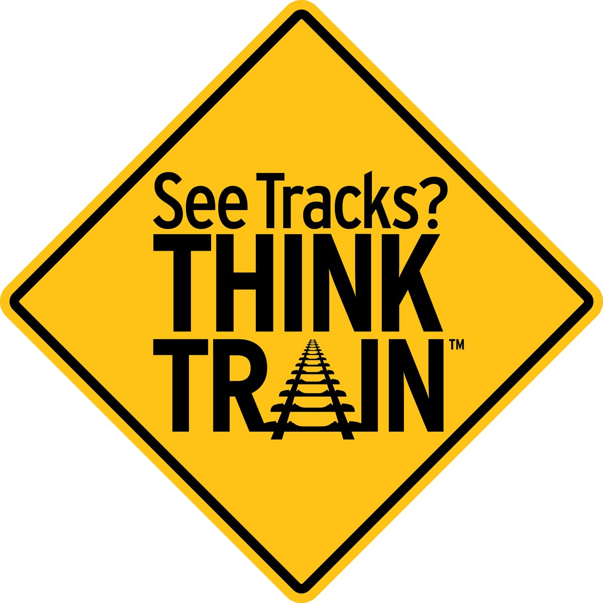 Did you know? A typical freight train can take more than a mile to stop, even when emergency brakes are applied - the distance of 18 football fields! Please be careful.
