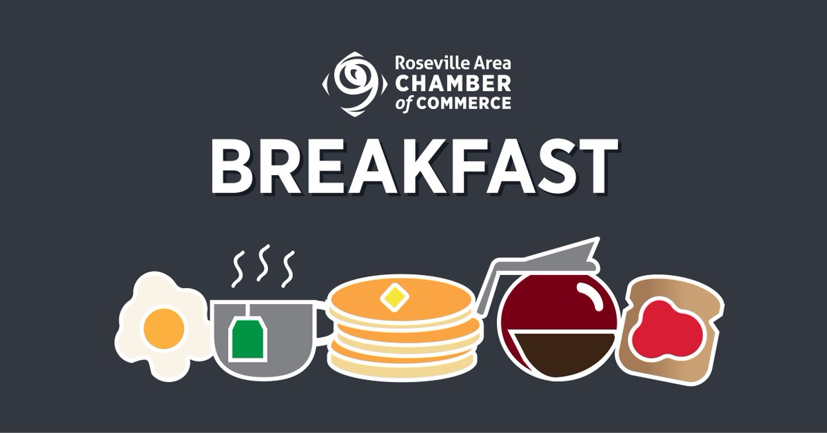 Join us for Breakfast! 🍳🥓☕️ Our Virtual Chamber Breakfast is beginning in the Members-Only Facebook Group (). Head there now to submit your 30-second business commercial and then join us on Zoom at 7:30 for additional networking…