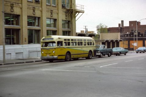 Another great #ThrowbackThursday of one of our coaches passing through downtown Bloomington. 🚍👀🚌 #TBT #GetConnected #TryTransit #SeeYouontheBus #BNPTS