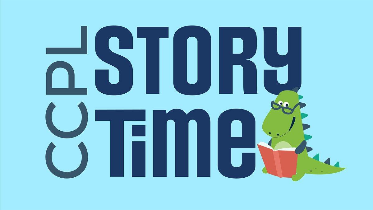 RT @CCPLVA: CCPL Online Story Time is back! Watch now on YouTube