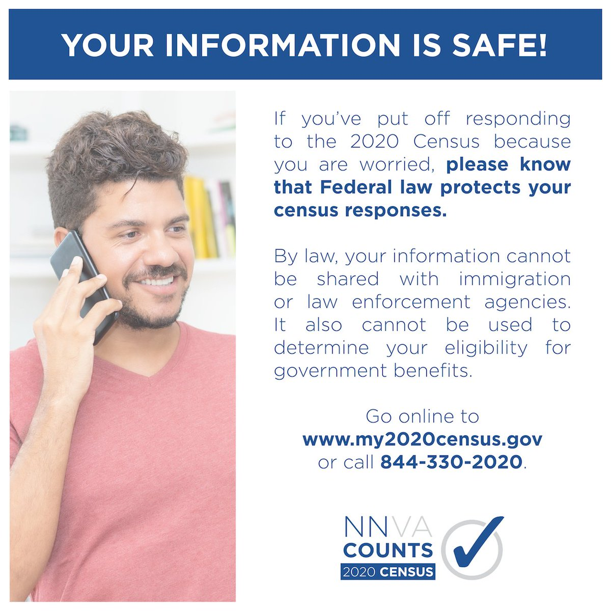 There are only 6 days left to complete the 2020 Census! Please respond TODAY by visiting  or calling 844-330-2020.   #NewportNews #Census2020