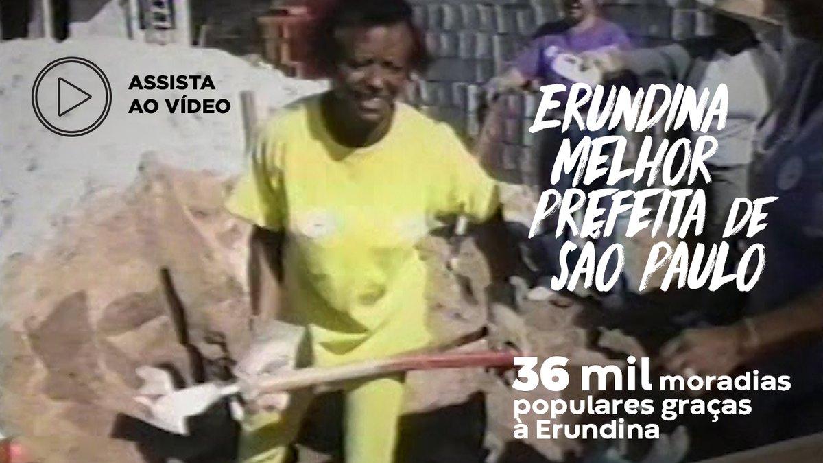 Você conhece os mutirões da @luizaerundina?