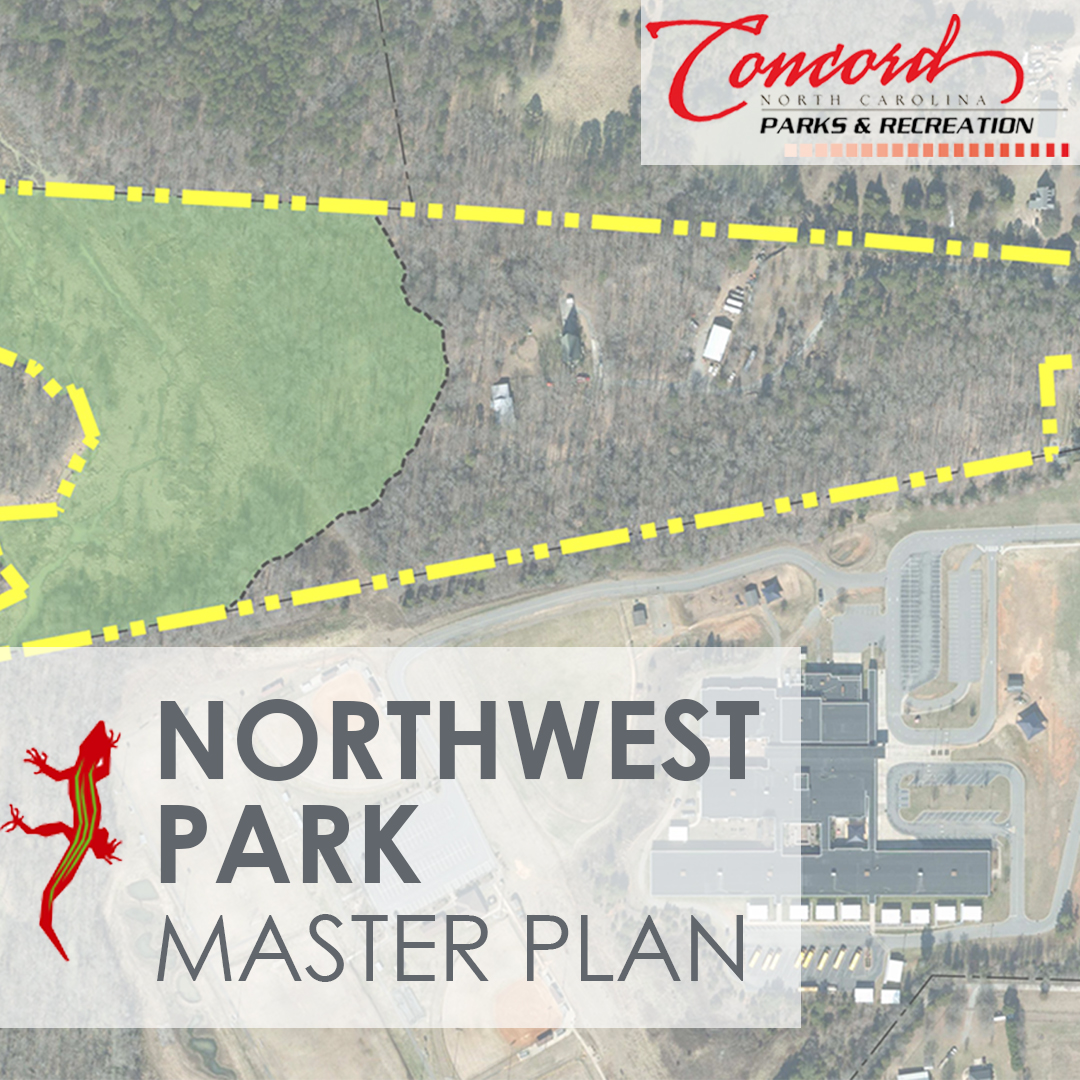 Good Morning, Concord!  *Reminder* The City of Concord Parks and Recreation Department is seeking public input to help guide the development of the City's first park in the northwest region of Concord.  The survey is available online at  until October 18.