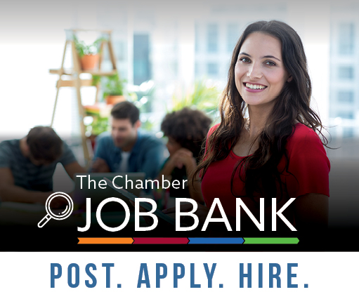 Sign up for the Chamber's weekly Job Bank email: