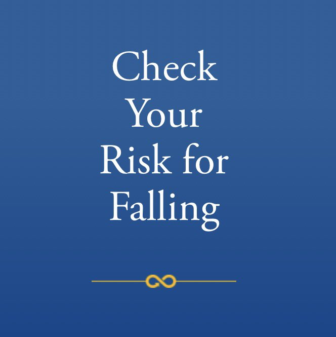 FALLS PREVENTION WEEK!!  Answer 12 questions to assess your falls risk.                                                                                               (English)                                           (same, Spanish)