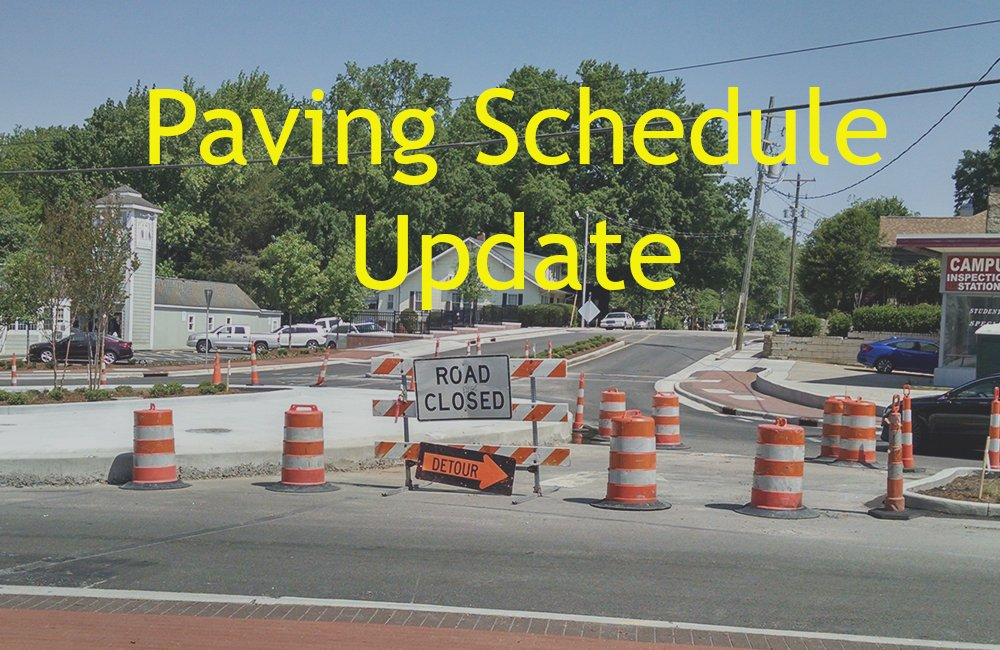 Today will see paving work on N 5th Street (starting on N Adams by the KC Hall and going to N Mill) and on Behring Street between Main & S 2nd Streets.  Please watch for detours and flaggers.