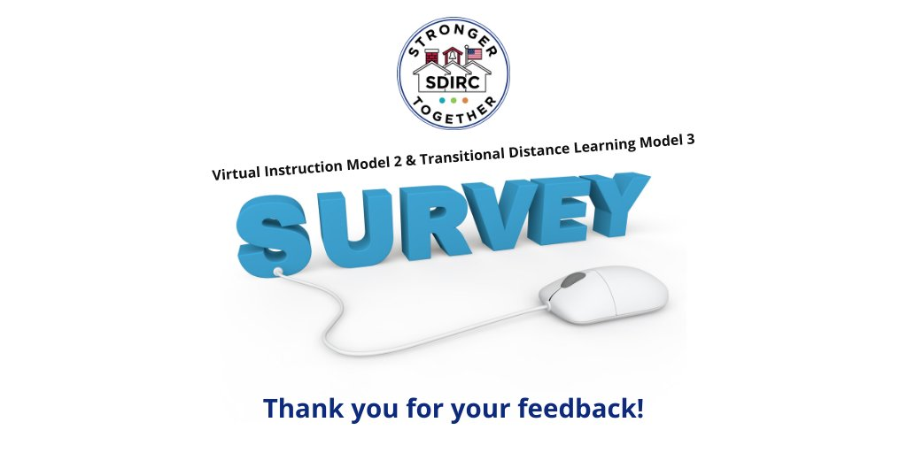 Families of students in virtual instruction models 2 & 3: A survey is available in your FOCUS Parent Portal until 5 p.m. today. Click the survey link for your students virtual instruction model.  Please take a survey for each of your virtual students.
