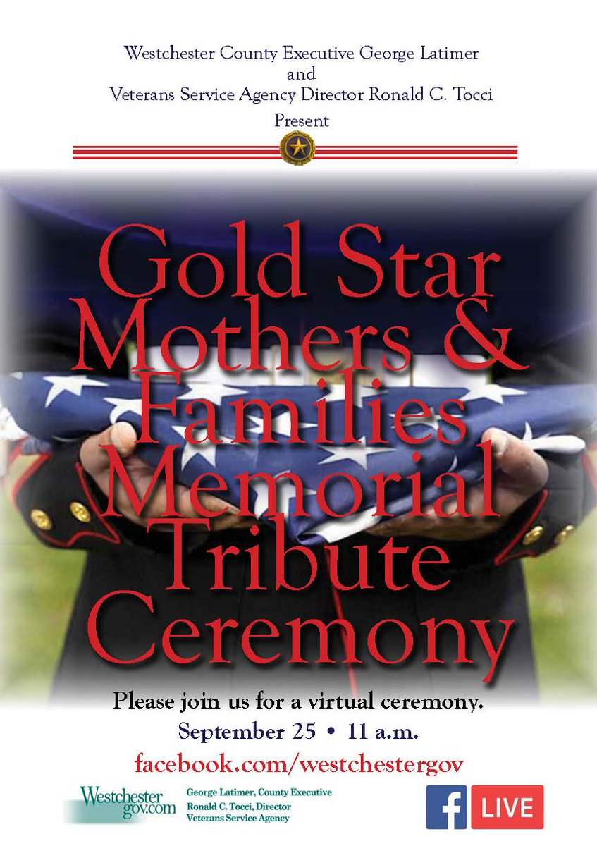 Each year we designate a day to mourn the soldiers we have lost in service to our nation and honor the families they have left behind. Please join us for a virtual ceremony tomorrow, September 25 at 11 a.m. on Facebook live.