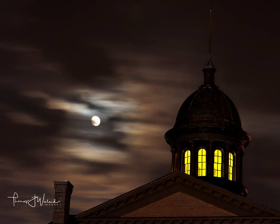 Reservations still available for Courthouse by Candlelight tours on 10/15 & 10/22 at 7pm, 7:45pm & 8:30pm! Join us as we walk the halls of the Historic Courthouse & learn the history behind this historic site while listening to some fun, spooky stories!