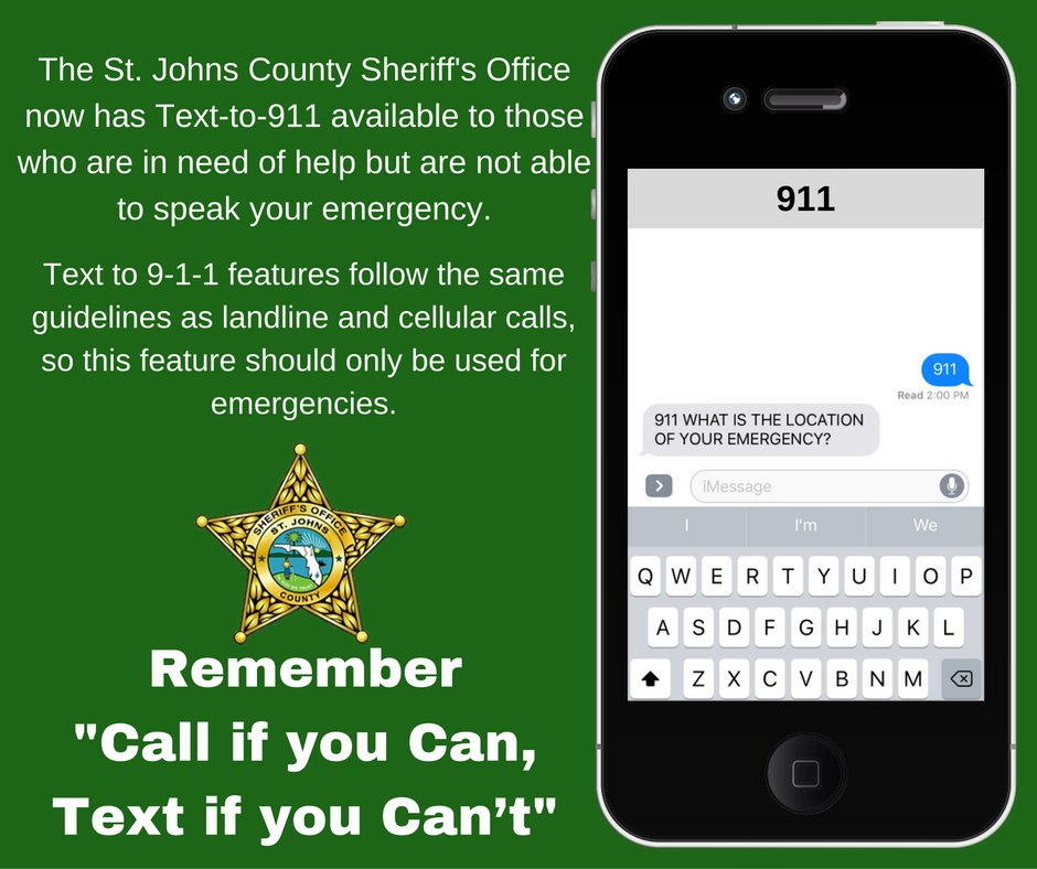 Voice calls are still the best and fastest way to contact 911, but if you find yourself in an emergency and you can't call - YOU CAN TEXT 911