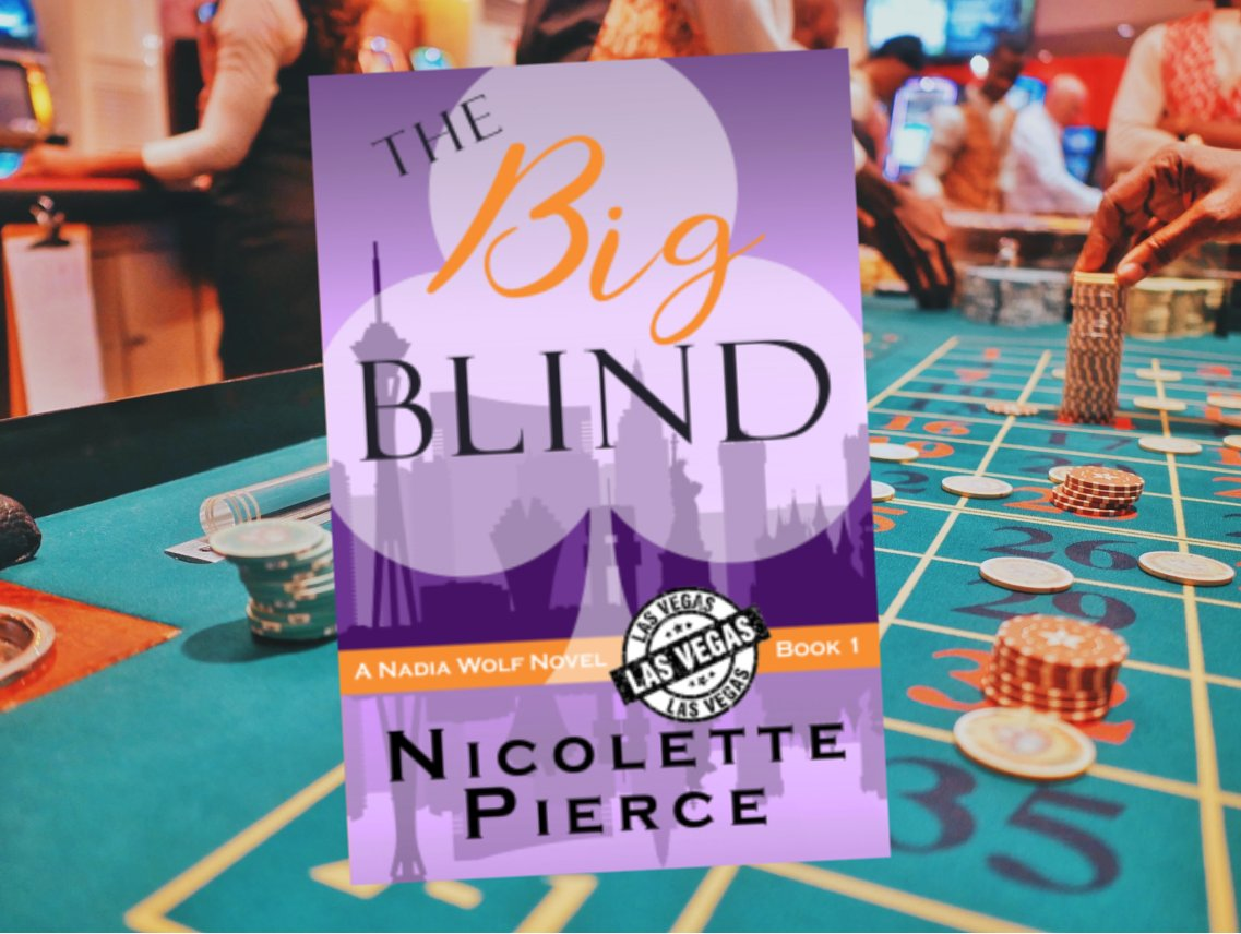 Nadia teams up with the casino's sinfully handsome CEO in an attempt to find the missing prize and to solve a perilous mystery that plagues the casino.  ❤️The Big Blind♣️ by Nicolette Pierce will keep you on your toes!  Get this #FreeEbook♠️♦️♣️♥️