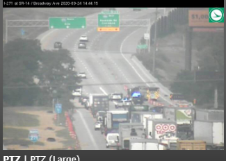 Traffic Alert: I-271 northbound at Tinkers Creek is reduced to one lane due to a crash. Please avoid the area and check OHGO for updates.