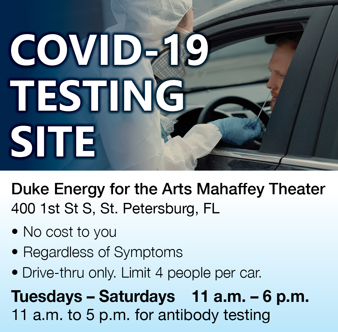 The #MahaffeyCOVID & antibody testing site opens today at 11am. We don't track real-time wait times, but they can be anywhere between 30 minutes to three hours, and there is no minimum age to be tested at Mahaffey. Minors must be escorted by a parent or guardian. #PinellasMC