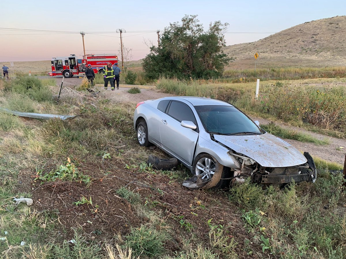 This morning, units responded to a single vehicle accident in the area of Riverdale Road and 136th Avenue. Firefighters rendered medical aid and one patient was transported to the hospital. Please remember to buckle up and drive safe out there.