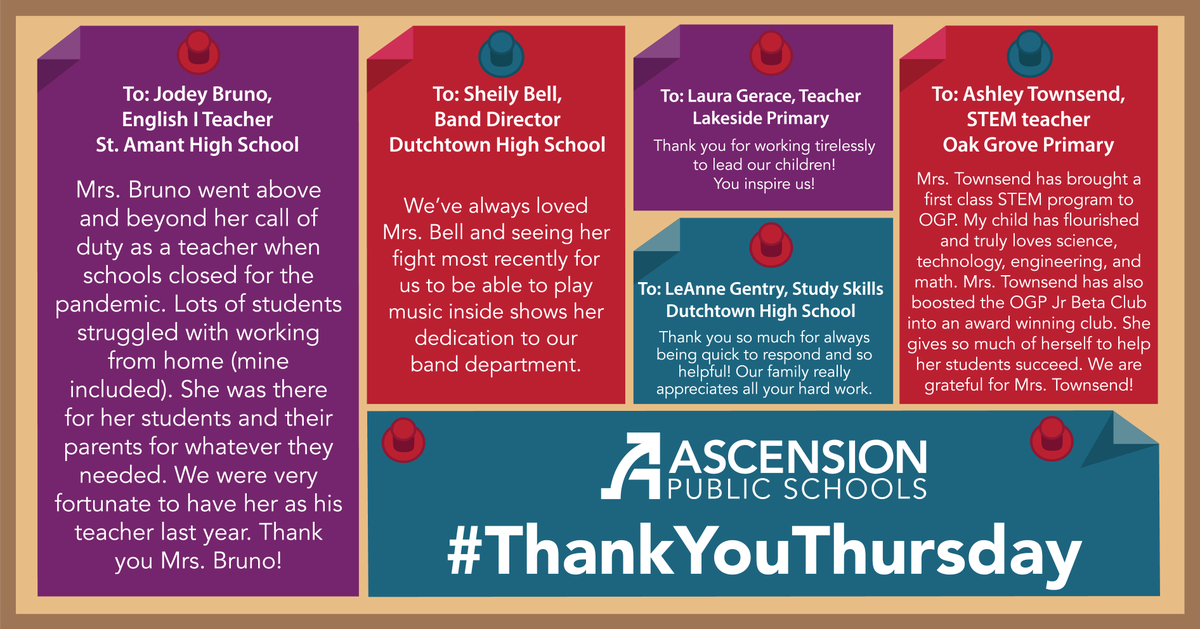 Happy #ThankYouThursday! Below is just a small sample of the many comments we've received last week! You can leave a Thank You online at  and be sure to check out next week's post for even more!