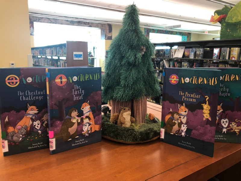 We have a new easy reader series to check out if you have an animal lover in the house! The Nocturnals Series features a kind fox, a loud-mouthed sugar glider, and a kind pangolin as they solve mysteries of the night. Best for 1st grade to 3rd grade or perfect as a read aloud!
