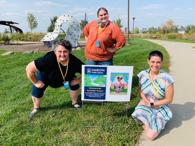 We love StoryWalks® and now we have two!   Come visit Lowe Park for a fun story and stroll as you read the book I Got the Rhythm by Connie Schofield-Morrison and Frank Morrison. By the end of the story, see if you've got the rhythm, too!