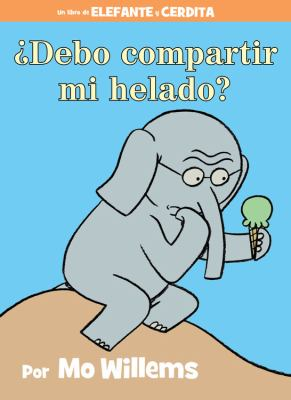Storytime en español! ¿Debo compartir mi helado? escrito e ilustrado por Mo Willems. Read by Edgar at the Central Library.  Thanks @The_Pigeon for giving us permission to share this book!  Tune in now:
