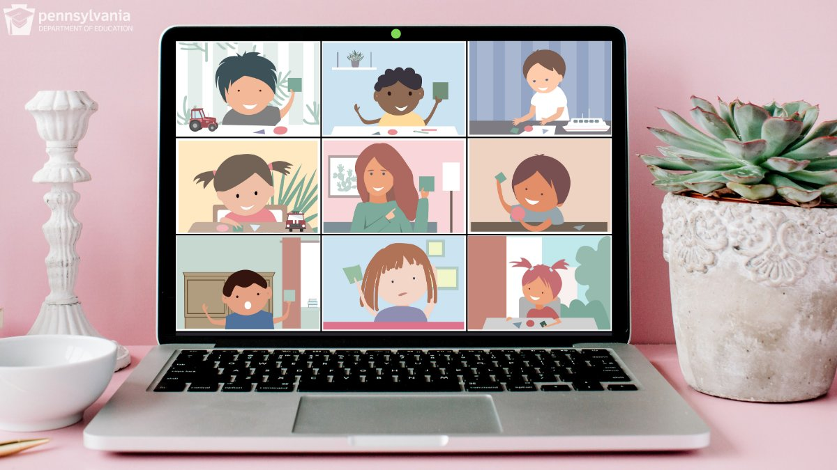 Educators: planning to share a screenshot of your virtual classroom? 💻  Keep kids safe!   Make sure you're following the process for sharing personally identifiable student information to avoid violating: 🚫 your school/district media policies ⚠️ student protections under FERPA