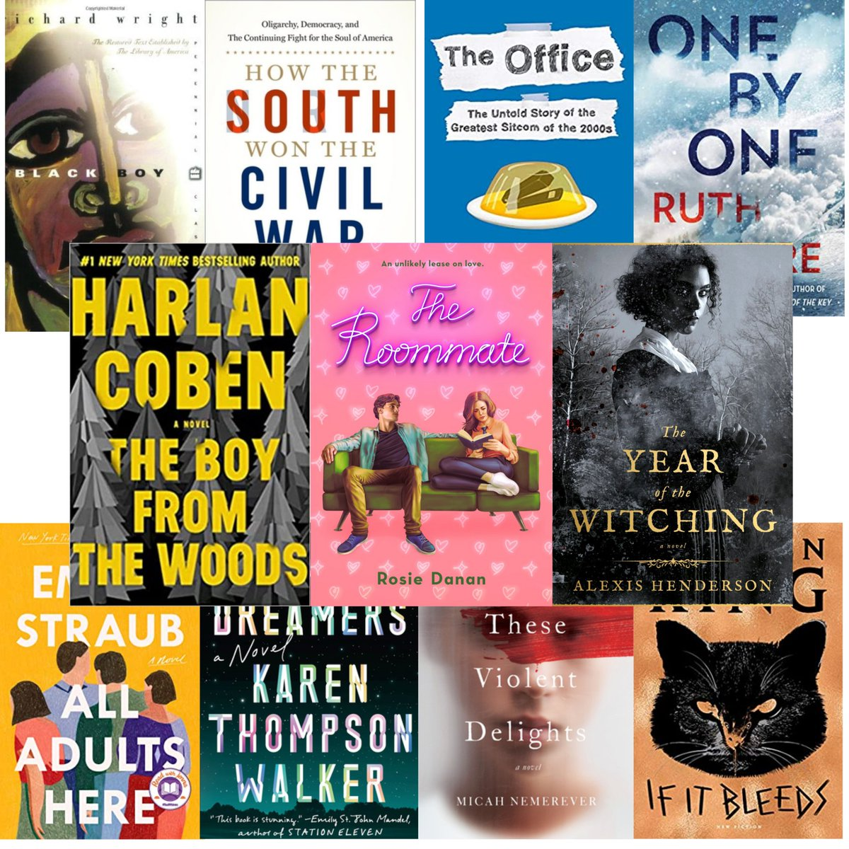 Our staff is gearing up for fall with some spooky reads and high-stakes viewing (like getting ready for postseason baseball)! Check out the full list on LPLS Recommends!