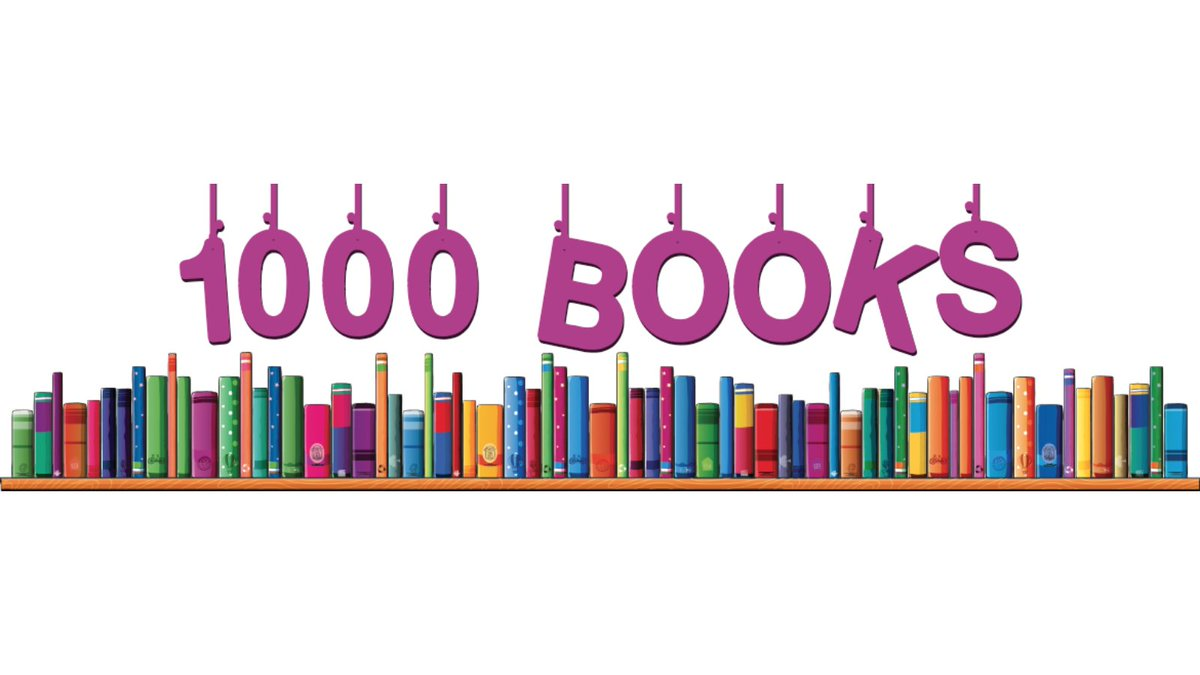 We are very excited to announce a new reading program, 1,000 Books before Kindergarten. Parents can register their children ages 1-5 years old through READsquared beginning October 1st.