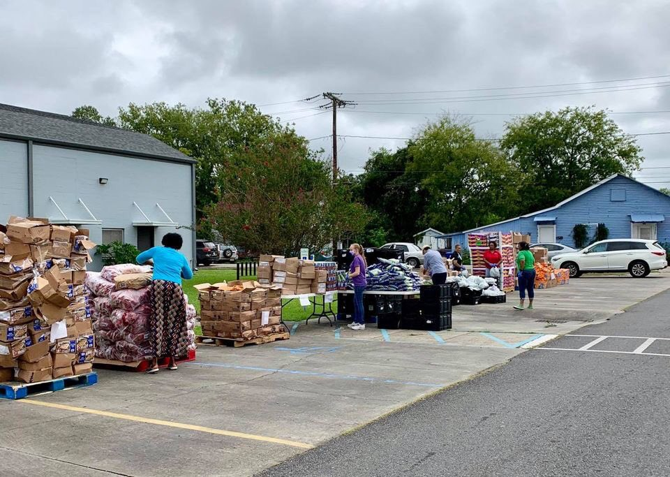 The Lafourche Parish Office of Community Action began distributing commodities at 10 a.m. this morning at the St. Luke Community Center in Thibodaux.  The CA team members will be available until 2 p.m. for commodity drive-thru pickup and/or to assist with program requests.