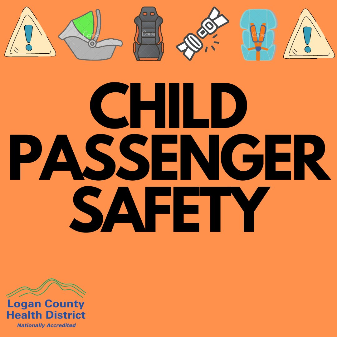 Is everyone in your family traveling safely?  Check out these Child Passenger Safety tips from Dayton Children's Hospital:    Need more information?  Visit   . . #PublicHealth #ChildPassengerSafety #CarSeat #BoosterSeat #Seatbelt